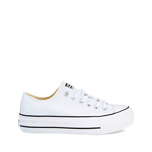 ANDY-Z Zapatos de Lona Zapatos Ocasionales Respirables de Placas Formadores Estaciones de Malla Zapatillas de Deporte