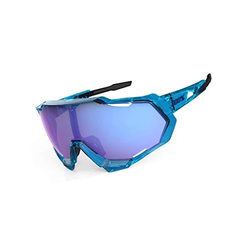 HBGGG Sportbril, winddicht, zonnebril, zonnebril voor motor, skibril, 3 stuks, verwisselbare glazen