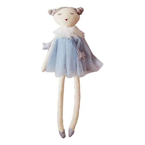 Beesuya Kinder Cartoon Puppe Nordische Art Kinder Beruhigende Plüsch Puppe Handgemachte Madeleine Ballerina Weiche Schlafende Kuschel Buddy Kinder Fotografie Puppen Kinderzimmer Dekoration Gorgeous