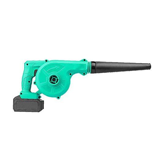 MICHAELA BLAKE Inalámbrico Ventilador de Hoja Hoja eléctrica del vacío Handheld Sweeper con batería de Litio de 2 en 1 para el soplado de Limpieza de la Hoja de Polvo del Coche del Equipo anfitrión