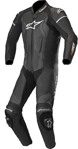 Alpinestars Tuta Moto In Pelle Gp Force Nero (36 Vita = Eu 52, Nero)