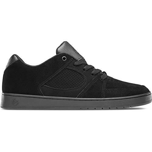 eS Herren Accel Slim Skate Schuh, Schwarz (Schwarz/Schwarz/Schwarz), 48 EU