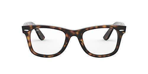 Ray-Ban Wayfarer Monturas de gafas, Havana, 50 Unisex-Adulto