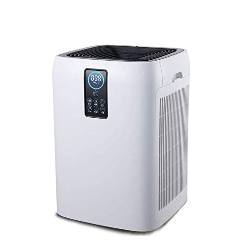 Qin Air Purifier with HEPA, and Odor Reducing Washable Filter,for Home, Smoke, Allergy, Pet Hair,Ultra-Quiet Technology, 4-Level...