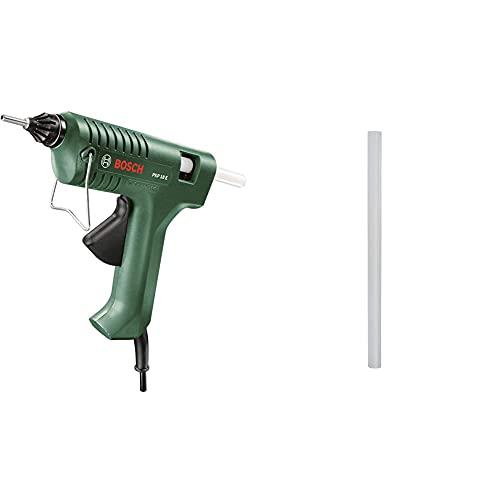 Bosch Klebepistole PKP 18 E (1x extralange Düse, 240 Volt) & Bosch Klebesticks Ultra (500 g, Ø 11 mm)