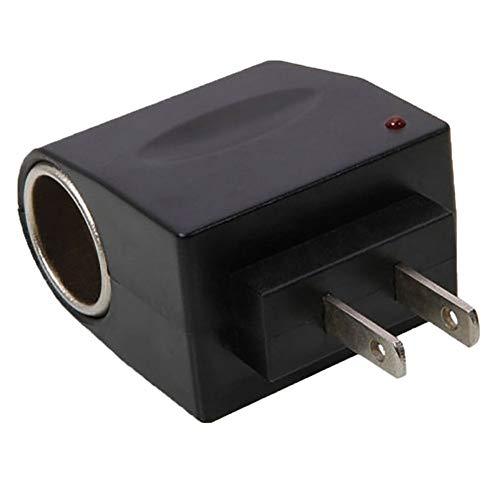 hudiemm0B Car Adapter Converter, AC 90V-240V to 12V Car Lighter Power Adapter Converter US PlugUS Plug
