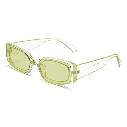 DingSORA Nuevo Cuadrado Europeo y Americano Pequeño Marco Gafas de Sol Hombres y Mujeres Personalidad Salvaje Gafas de Sol Gafas de Sol Sunglasses (Tamaño : 1)