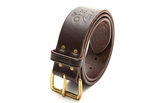 The Woodsman Overbelt - Full Grain USA-Made Leather Bushcraft Belt With Axe Loop & Accessories