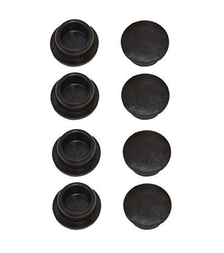 FKAnhängerteile 8 x Knott Stopfen für Knott Ankerplatte für Sichtloch Ø 12 mm, Knott Nr. 44569.03