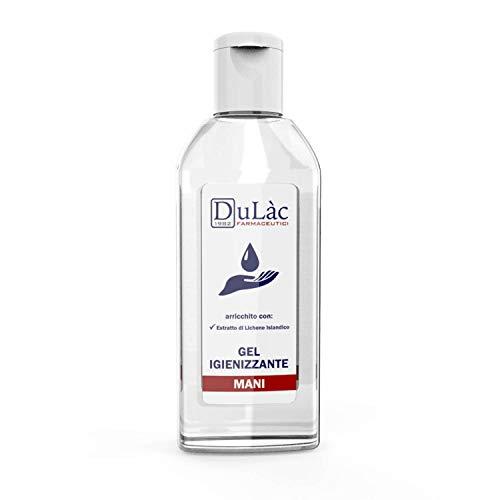 Dulàc - Gel higienizante para manos - para limpiar y higienizar las manos en ausencia de agua (1 Pack 100 ml)