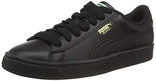 Puma Unisex-Erwachsene Basket Classic LFS Low-Top, Schwarz (Black-Team Gold), 37 EU