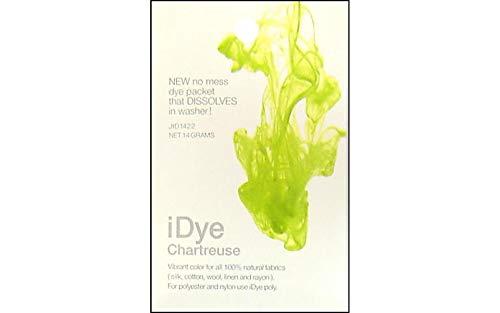 Jacquard iDye natural chartreuse