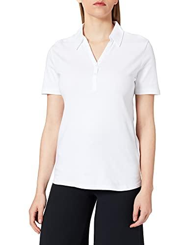 Cecil Damen Polo T-Shirt, White, XL