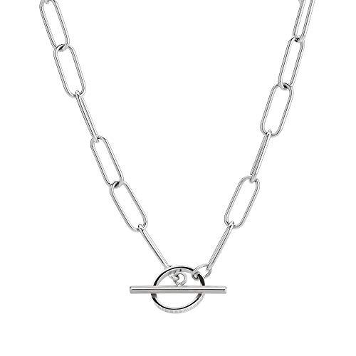 Liebeskind LJ-0432-N-40 Damen Collier Edelstahl Silber 39 cm