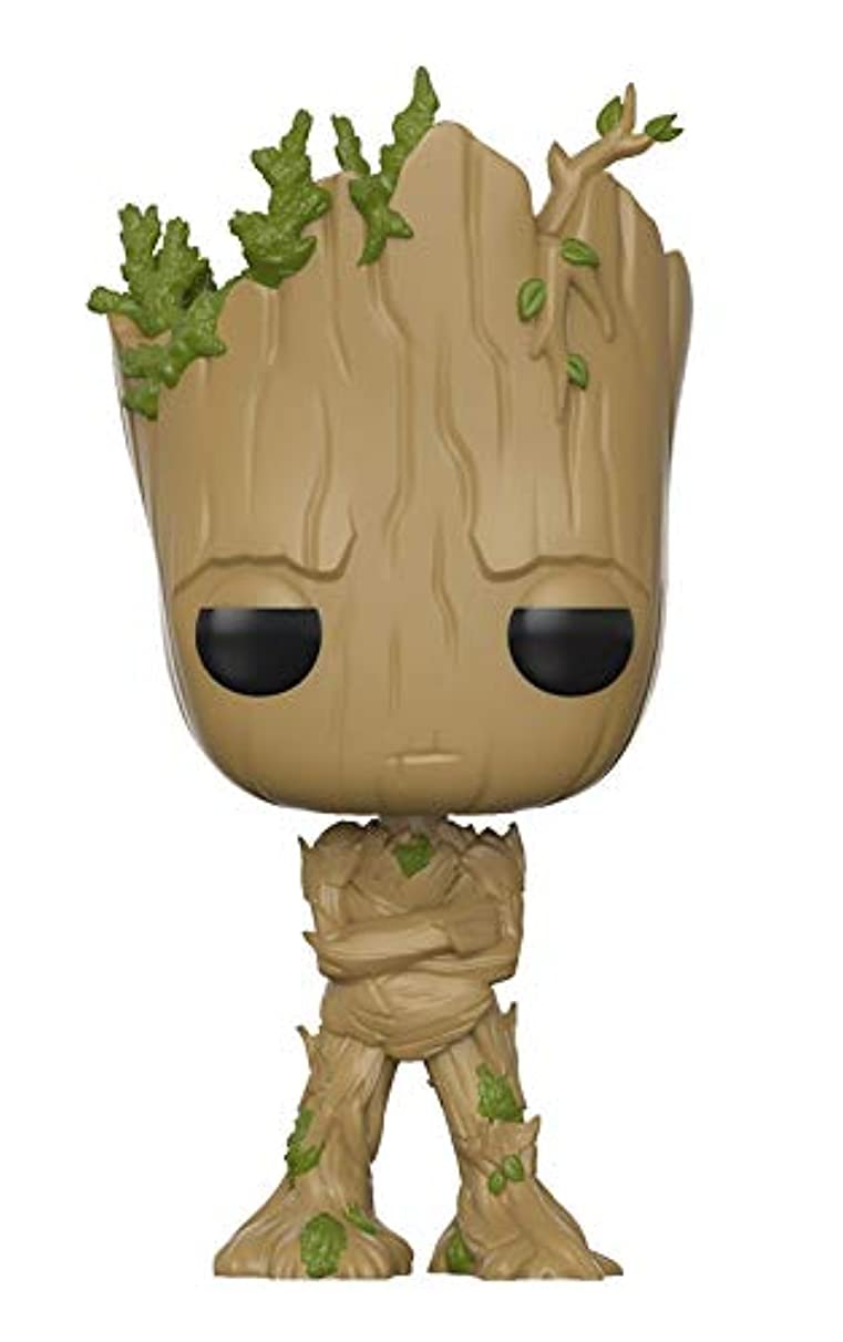 Funko Pop! Movies: Guardians of The Galaxy Vol. 2 - Adolescent Groot Amazon Exclusive Action Figure