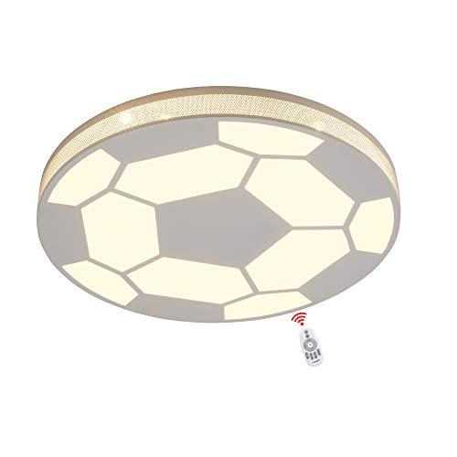 Wandun Deckenleuchte fußball lampe decke Balkon Licht kreativ Deckenleuchte leuchtet Moderner Deckenlampe Fußballdesign, Kinderlampe, Fußballlampe Kinder Decke Licht Innen Deckenbeleuchtung Deckenlamp