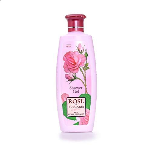 Bio-Fresh Rose of Bulgarien Duschgel für Frauen mit Rosenwasser, 330 ml