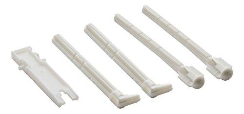 Geberit Set de poignées, blanc, 241874001