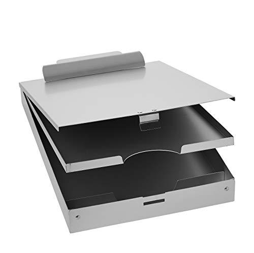 AmazonBasics Metal Storage Clipboard, Three-Tier