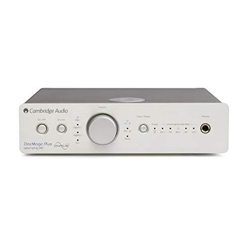 Convertitore digitale-analogico e preamplificatore Risposta in frequenza: 20 Hz -20000 Hz Convertitore: Dual Wolfson WM8740 24-bit DACs Funziona con: lettori Mp3, PC, Lettori DVD/Blu-ray, console videogiochi, TV, Bluetooth e cuffie