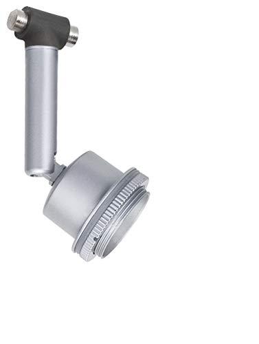 Paulmann 94141 DecoSystems, touwlamp, chroom, mat, aanvulling voor kabelsysteem, kabellamp zonder lampen, spot max. 10 W GU5,3 lamp vrij te kiezen