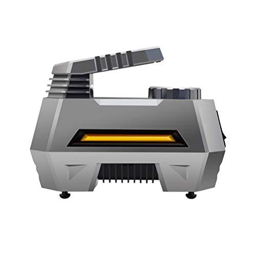 VICASKY Inflador del Compresor de Aire del LCD Durable de La Pantalla Digital Profesional de La Bomba de Aire del Coche 12V para El Vehículo del Coche