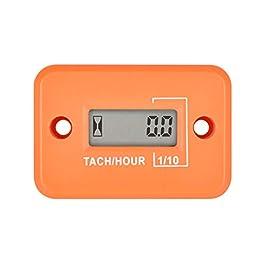 Compteur d'heures de mini tachymètre numérique Runleader, heures TOT accumulées, affichage du régime en temps réel…