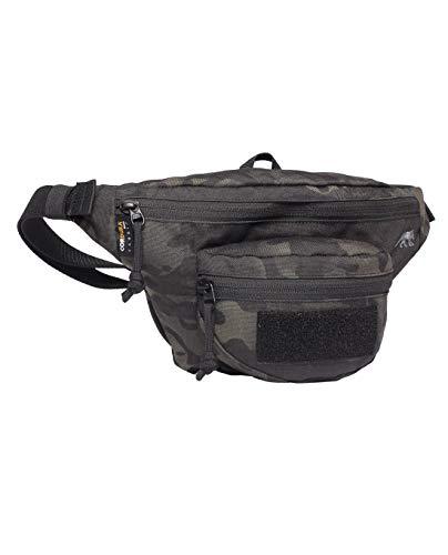Tasmanian Tiger TT Funny Bag S Gürteltasche Taktische Bauchtasche mit Patch-Fläche, 1 L, 33 x 16 x 7 cm, Multicam Black