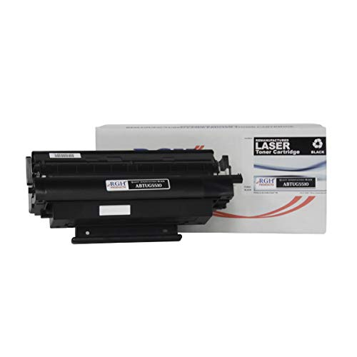 RGH Products Remanufactured ABTUG5510 Black Toner Cartridge for Use in Panasonic Fax Machines DX-800, UF-6000, UF-780, UF-790. Yields up to 9,000 Pages. Replacement for UG-5510