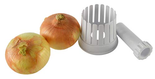 HOME-X Onion Slicer, Kitchen Gadget, Vegetable Cutter Tool, Fried Onion Appetizer