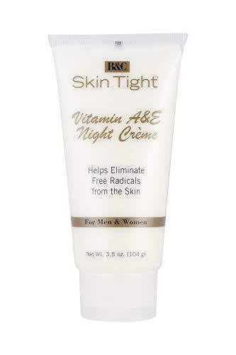 B&C Skin Tight Vitamin A & E Night Creme 3.5 oz