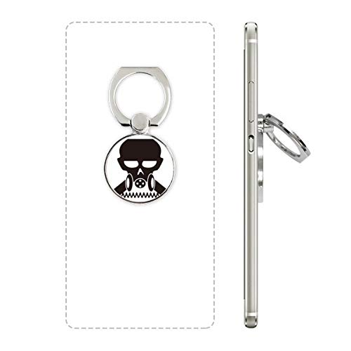 DIYthinker Vervuiling Biochemische Cyborg Gas Masker Mobiele Telefoon Ring Stand Houder Beugel Universele Smartphones Ondersteuning Gift