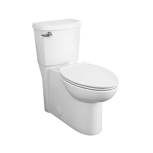 American Standard Cadet 3 2989101.020 FloWise Skirted Two-Piece 1.28 gpf/4.8 Lpf Chair Height Elongated Toilet With Seat, White