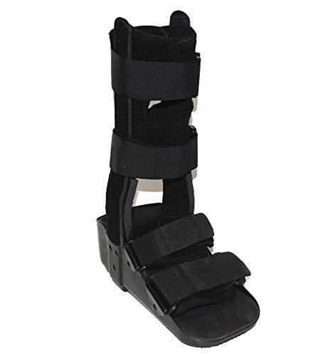 Kurze Fracture Walker-Stiefel mit verstellbarer Unterstützung für stabile Fuß- und Sprunggelenk-Fracture-Walker, postoperative Pflege für die Reparatur von Achillessehnen-black-L