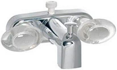 Long-awaited RV Trailer Camper Fresh Water Online limited product Two Diverter PHO Handle Chrome Tub