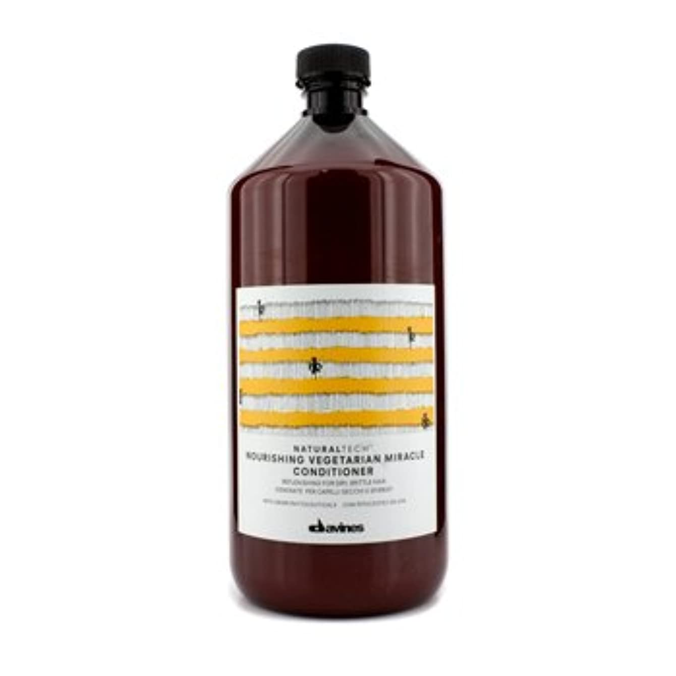 適性ひいきにするハウスダヴィネスNatural Tech Nourishing Vegetarian Miracle Conditioner (For Dry, Brittle Hair) 1000ml/33.8oz【海外直送品】