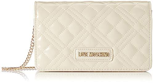Love Moschino Jc4093pp1a, Borsa a Mano Donna, Avorio (Avorio), 4x11x18 cm (W x H x L)