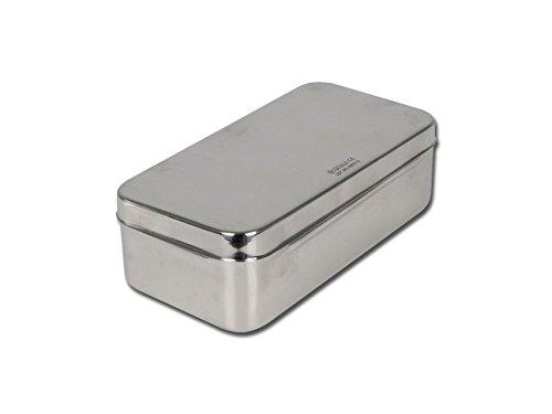 GIMA S.p.A 5868 Caja de acero inoxidable, 20 cm x 10 cm x
