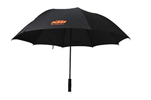KTM paraplu paraplu zwart met print in oranje