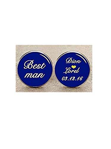 Best Man Boutons de manchette, mariage, boutons de manchette