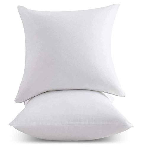 YYZZD 2-teiliges Kissenkissen-Set, antiallergisches Kissen für Fortgeschrittene, superweiche Mikrofaserfüllung Dekoratives Kissen Kissen Kissen Bett Sofa Sofa