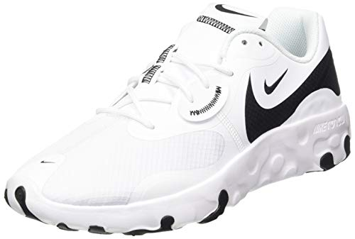 Nike Renew Lucent II, Sneaker Hombre, White/Black, 43 EU