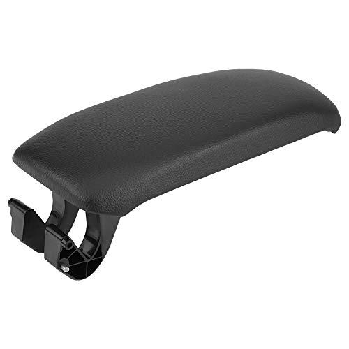 KIMISS Cubierta de la Tapa del apoyabrazos de negro de la Consola Central del coche para A3 8P / A5 2003-2013 8P0864245P(cuero)