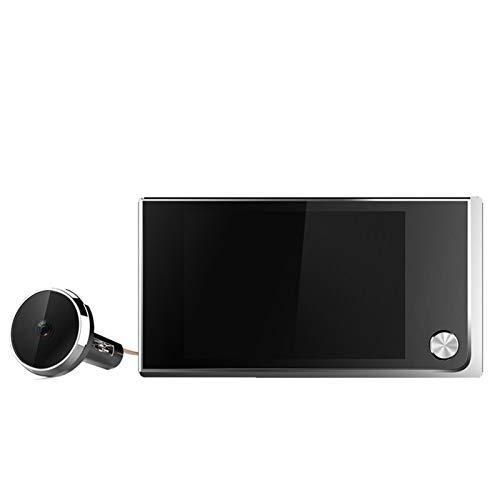 mrjg Cámara Invisible de 3.5 Pulgadas LCD Doorbell Digital 120 Grados Puerta Puerta Puerta Ojo HD Puerta de Seguridad Electrónica Visor (Fit Door Thickness : 35 100mm)