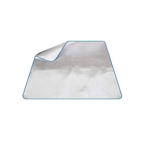 Impermeabile di alluminio EVA a pelo della coperta Materasso Mat alluminio per escursione di campeggio esterna di picnic di corsa