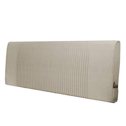 HUHD Bed rugleuning rugleuning kussen bed rugleuning kussen kopende zachte tas grote rug stof moderne IKEA stijl eenvoudig wasbaar lebao (kleur: b- zonder kopen, grootte: 18060cm) 120*60cm 11