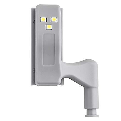 Gabinete LED Sensor de bisagra Luz de luz Puerta Bisagra Luz Interruptor automático Armario del armario Armario 3 Luces de noche LED para sala de estar / Dormitorio / Armario / Armario de cocina, Luce