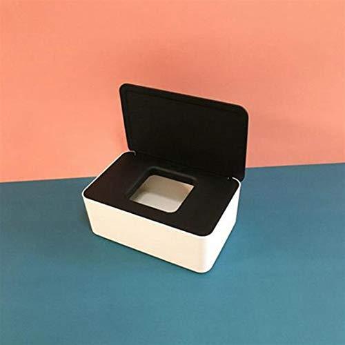 Auto-Seidenpapier-Kasten-Halter Wet Tissue Box Haushaltsstaubdichtes Box Desktop-Plastikhalter Auto Autozubehör Sealed Leer (Color Name : 07)