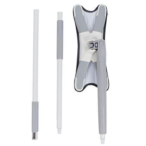 Productos para el hogar, trapeador de piso, lavado de manos, herramienta de limpieza doméstica en seco y húmedo tipo X con tapete de microfibra reutilizable