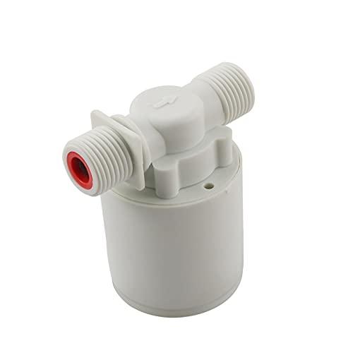 NEBSM 1/2'Válvula automática de Control de Nivel de Agua Válvula de Bola Flotante Válvula de Flotador automática Válvula de Control de Nivel de Control Tanque de Agua 1 PC Jardinería Riego